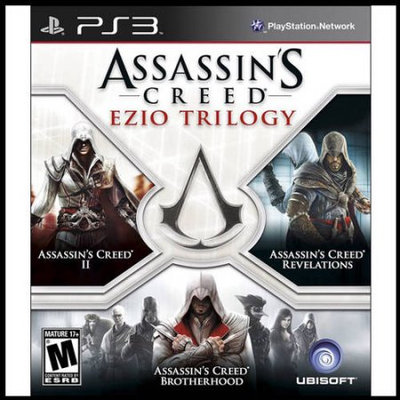 Ubisoft Assassin's Creed: Ezio Trilogy (PS3) - Pre-Owned