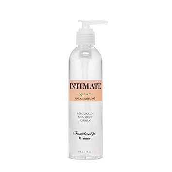 Passion Lubes Intimate Natural Lubricant Formulated for Women, 8 Oz