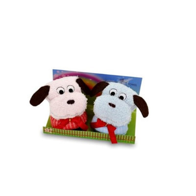 Couture Towel CT-GS15000035 13 x 14 x 2 in. Cutie Pie Fluffy Pups Towel Fun Day in The Park