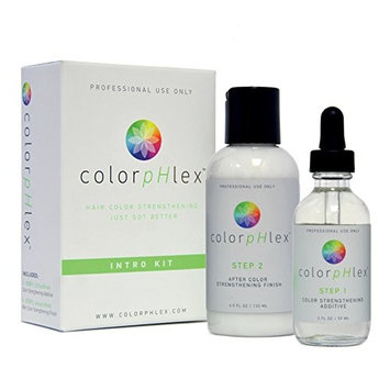 ColorpHlex: Intro Kit, Color Strengthening Additive, 2 oz, After Color Strengthening Finish, 4 oz