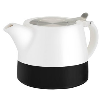 Pinky Up Harper Ceramic Teapot & Infuser with Chalkboard Paint