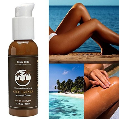 GARYOB Self Tanner - Organic and Natural Ingredients Sunless Tanning Lotion and Best Bronzer Golden Buildable Light, Medium or Dark Gradual Tan for Body and Face