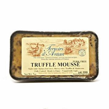 Mousse Truffle Pate, All Natural - 2 pcs. x 7 oz (198 gr)