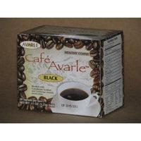 Cafe Avarle Black Healthy Coffee with Ganoderma & Cordyceps 1 Box (20 Sachets)