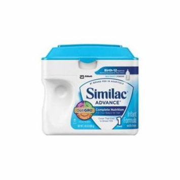 Similac advanced w/iron pwdr, retail 12.9oz. can part no. 5595776 (6/case)