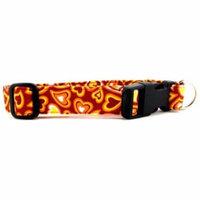 Curvy Hearts Dog Collar - Size - X-Large