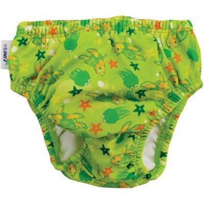 FINIS Reusable Swim Diaper - Turtle Green