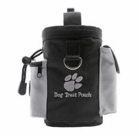 Dog Treat Pouch,Legendog Drawstring Dog Training Pouch with Waste Bag Dispenser & Phone Pouch Food Snack Small Items Storage Bags