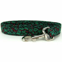 Holly Berries Dog Leash - Size - Small