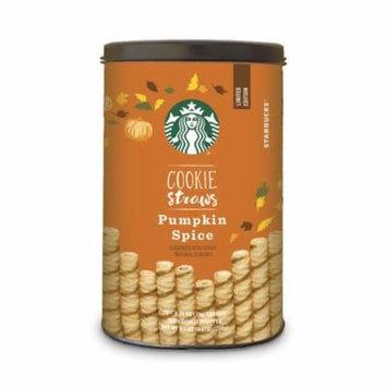 Starbucks Cookie Straws, Pumpkin Spice, 20 ct. 6-inch straws