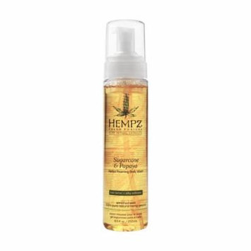 Hempz Sugarcane & Papaya Herbal Foaming Body Wash 8.5 oz