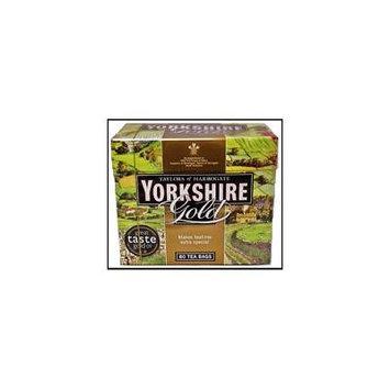 Taylors of Harrogate Yorkshire Gold Tea Bags 80 per pack - Pack of 2