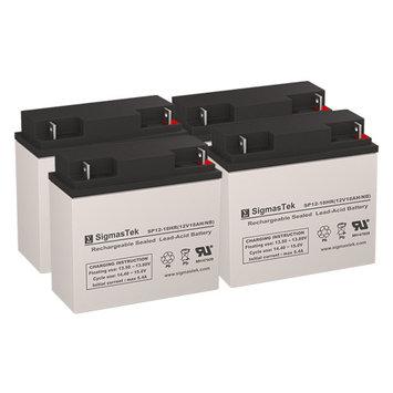 G-Bike City Replacement Batteries (12V 18AH ) (Set of 4)