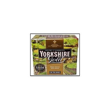 Yorkshire Tea Taylors Of Harrogate Yorkshire Gold 80 Tea Bags 250G - Pack Of 5
