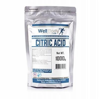 Citric Acid Powder - Fine Granular - 100% Pure Anhydrous - Pharmaceutical Grade Quality 1 Kilograms