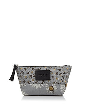 Ysl Marc Jacobs B.y.o.t. Mixed Daisy Print Cosmetic Case