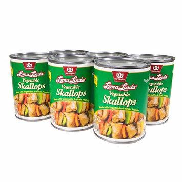 Loma Linda Vegetable Skallops (20 oz.) (Pack of 6)