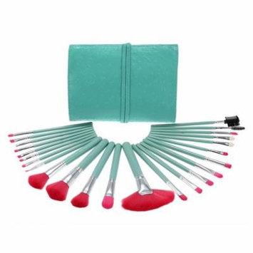 Abody 24Pcs Makeup Brushes Kit Professional Cosmetic Makeup Set Wood Handle Superfine Fibre Brush+ Pouch Bag Case