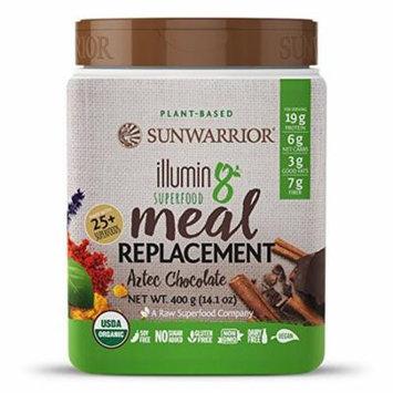 Sunwarrior Illumin8 Organic Superfood Meal Replacement, Chocolate, 14.1 Oz