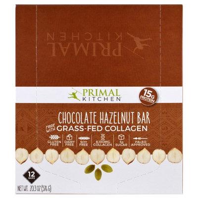 Primal Kitchen, Chocolate Hazelnut, Grass-Fed Collagen, 12 Bars, 1.7 oz (48 g) Each(pack of 2)
