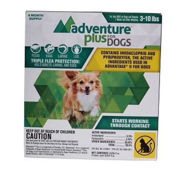 Durvet Adventure Plus For Dogs 4-Pack