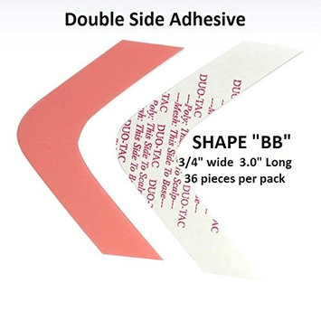 Duo Tac Tape Shape BB Double Side Adhesive 36-pcs per pack