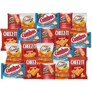 Cheeze-it, Pringles, GoldFish, Combos Snacks Refrigerator Restock Kit (Pack of 20)