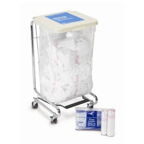 """Medi-Pak MELT-A-WAY Polyvinyl Alcohol Film, Hot Water Soluble Bags - 26"""" x 33"""" - 20 to 25 gallon - 25 Each / Pack"""