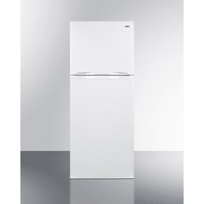 Summit FF1075WIM 9.8 Cu. ft. Frost-free Refrigerator-freezer with Icemaker in.