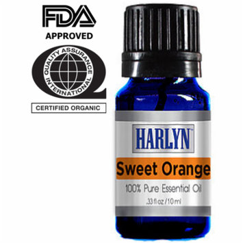 Harlyn Sweet Orange Essential Oil - 10 mL - 100% Pure and Natural
