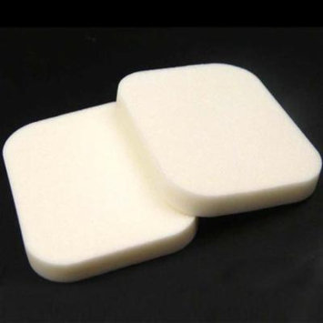 Square Shape Makeup Cosmetic Soft Face Sponge Dual-use Powder Puff (White)