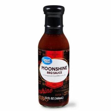 Great Value Moonshine BBQ Sauce, 12 fl oz