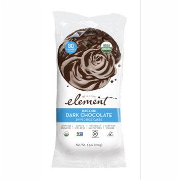 Element Snacks Organic Dark Chocolate Dipped Rice Cakes 3.5 oz