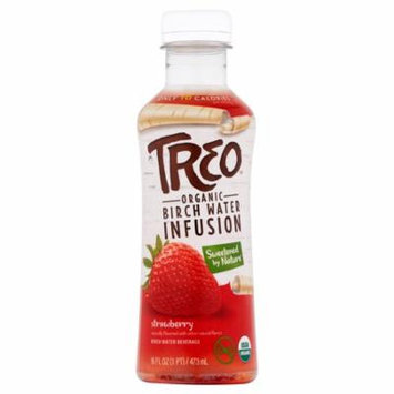 Treo Wtr Brch Strawberry Org,16 Oz (Pack Of 12)