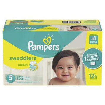 Pampers Swaddlers Diapers Size 5, 132 Count