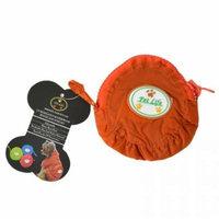 Pet Life Ultimate Waterproof Thunder-Paw Zippered Orange Travel Dog Raincoat Medium - (14