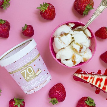Enlightened - The Good For You Ice Cream, High Protein-Low Sugar-High Fiber-Low Fat, Strawberry Cheesecake, Pint (8 Count)