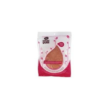 All Natural Konjac Face Sponge with Added French Pink Clay by My Konjac Sponge (pack of 3)