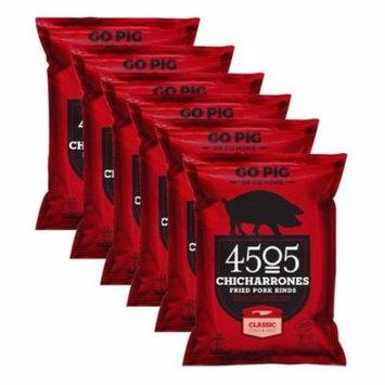 4505 Chicharrones (Fried Pork Rinds) Classic Chili & Salt, 2.5 oz, (*12-pack*)