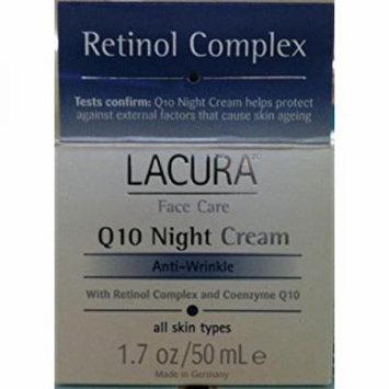 LaCura Q10 NIGHT FACE CREAM Anti-Wrinkle 1.7 oz. by Chom