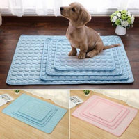 Dog Cat Pet Cool Mat Puppy Non-toxic Chilly Summer Sleeping Bed Soft