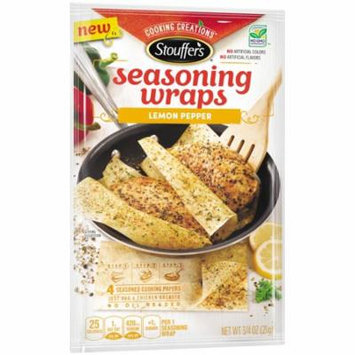 STOUFFER'S Cooking Creations Lemon Pepper Seasoning Wraps 21g Pack