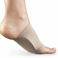 Plantar Fasciitis Silicone Arch Support Cushion Orthotics Sleeves For Foot Pain Relief-Black