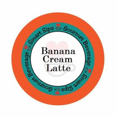Banana Cream Latte, 48 Single Serve Cups Compatible With All Keurig K-cup Brewers