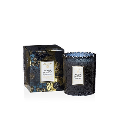 Voluspa - Japonica Limited Edition Scalloped Candle - Moso Bamboo