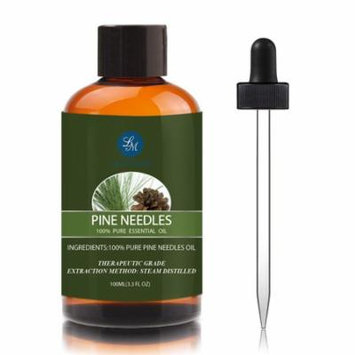 100ml Pine Needles Essential Oils,Pure&Natural Aromatherapy Oil For Massage And Relaxation,Premium Therapeutic Grade,Fragrance For Personal Care&Wellness