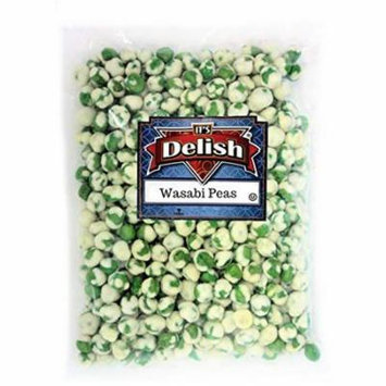 Wasabi Peas - Crunchy Chinese Snack - by Its Delish (2 lbs)