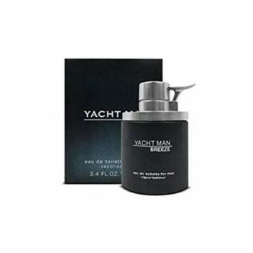 Yacht 92X123402 3.4 oz Men Eau De Toilette Spray, Breeze