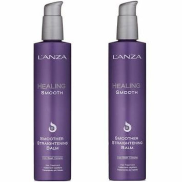 LANZA Healing Smooth Smoother Straightening Balm 8.5 oz - 2 Pack