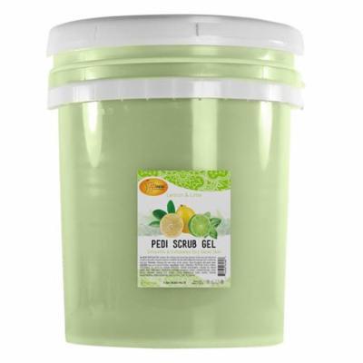 SpaRedi Pedi Scrub Gel Lemon Lime 5 gal